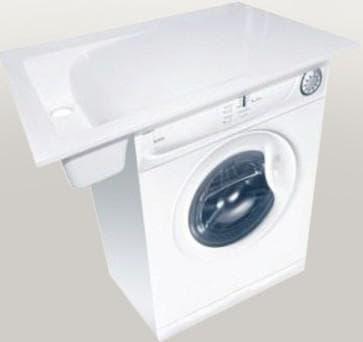 раковина под стиральную машину с боковым сливом