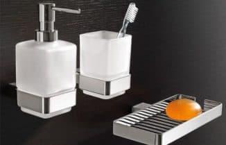 аксессуары для ванной в квартире