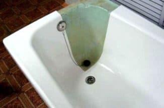 реставрация чугунной ванны в квартире