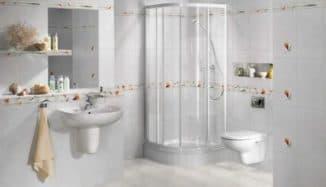 плитка для ванной в квартире