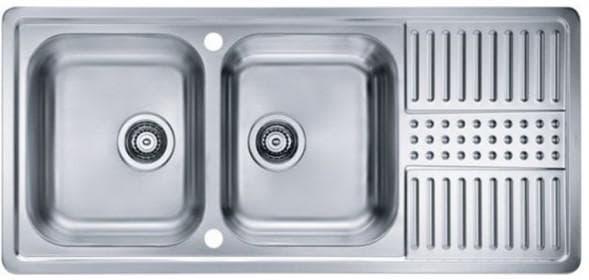 мойка для кухни из нержавеющей стали прямоугольная