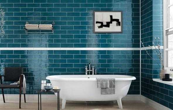 плитка для ванной геометрическая