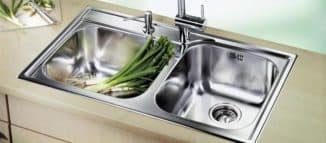 мойка для кухни из нержавеющей стали для дома
