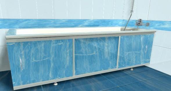 экран под ванну из пластика