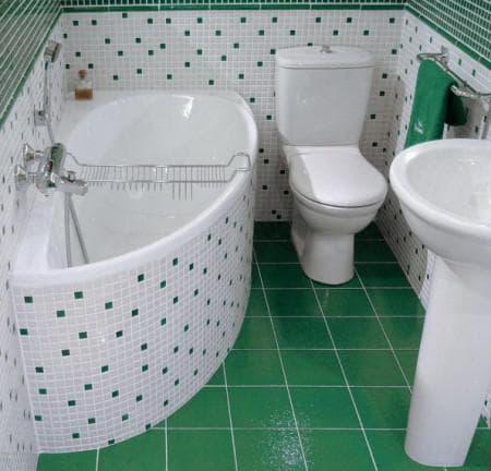 плитка для маленькой ванной комнаты дизайн