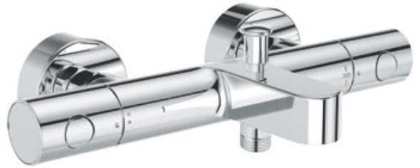 смеситель для ванной с душем с термостатом от Grohe