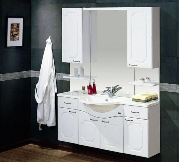 настенная мебель для ванной