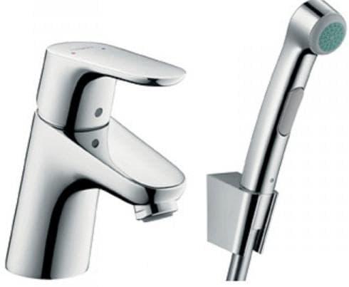 смеситель для ванной с гигиеническим душем