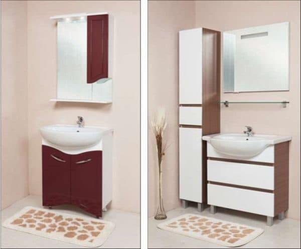 мебель для ванной оника