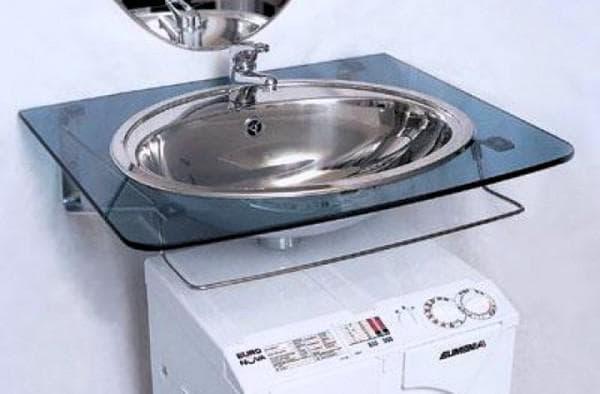 плоская раковина на стиральную машинку