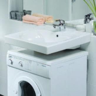 раковины на стиральную машину в доме