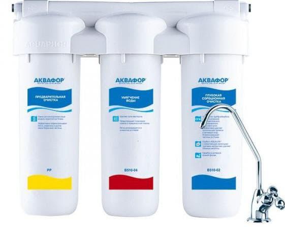 фильтры для воды под мойку Аквафор