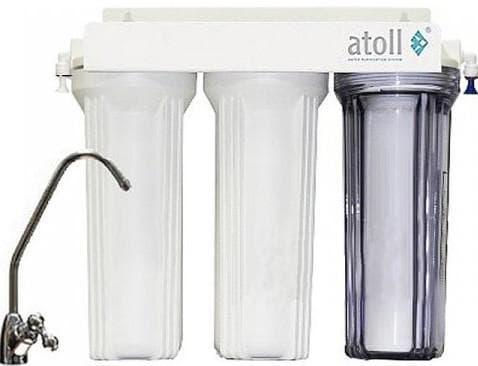 фильтры для воды под мойку Атолл