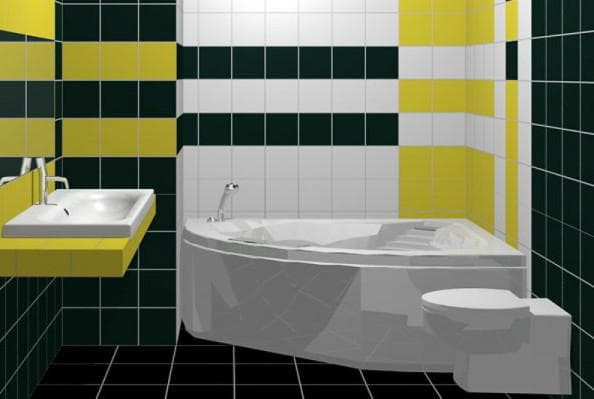 плитка для ванной 20х20