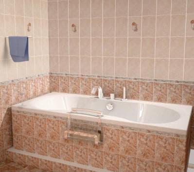 плитка для ванной 20х30
