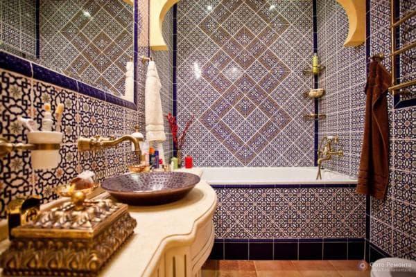 плитка для ванной восточные мотивы