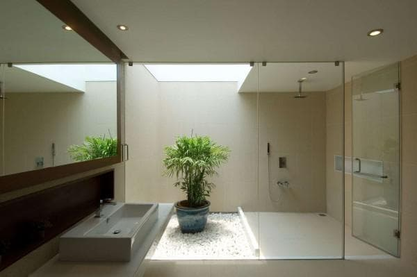 ванная комната дизайн минимализм