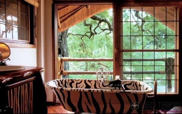 ванная комната дизайн этнический